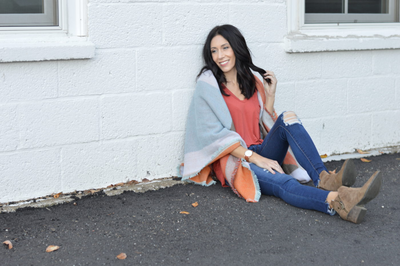 Top FIVE ways to wear a blanket scarf.