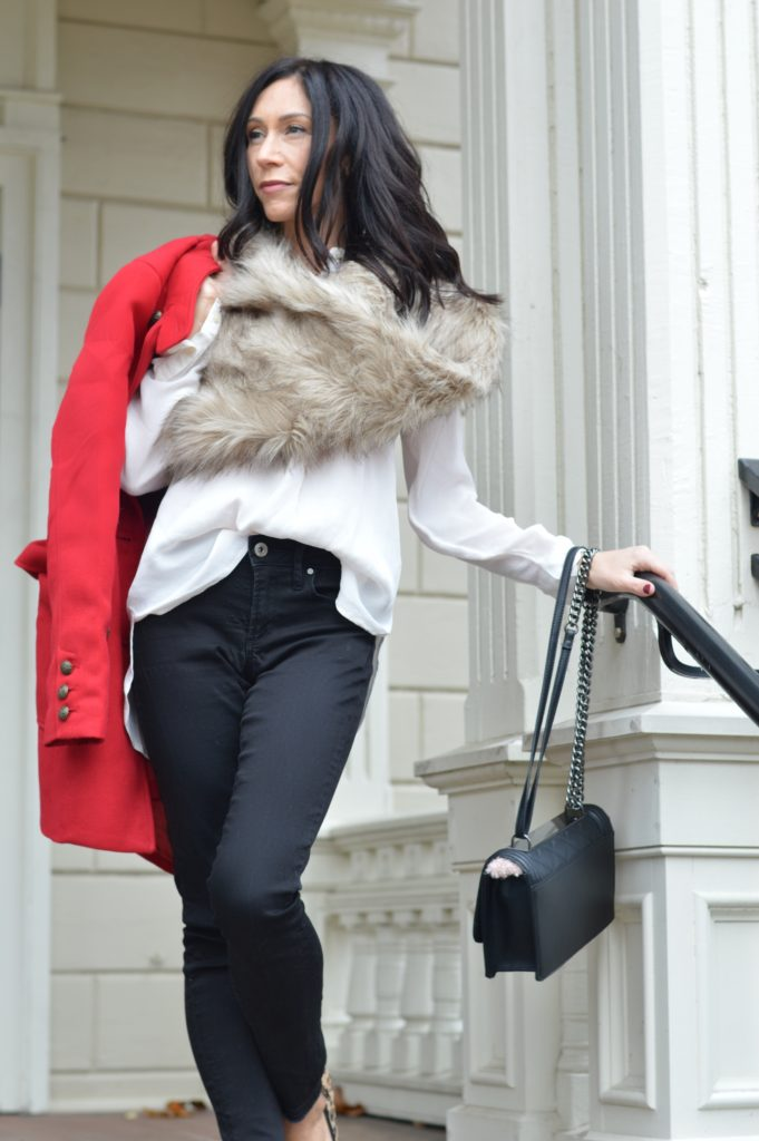 red11 - The Best Red Winter Coat this Holiday Season by Boston fashion blogger Living Life Pretty