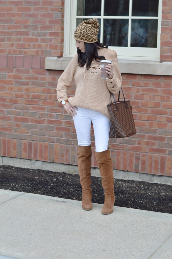 winter neutrals, wearing and styling neutrals