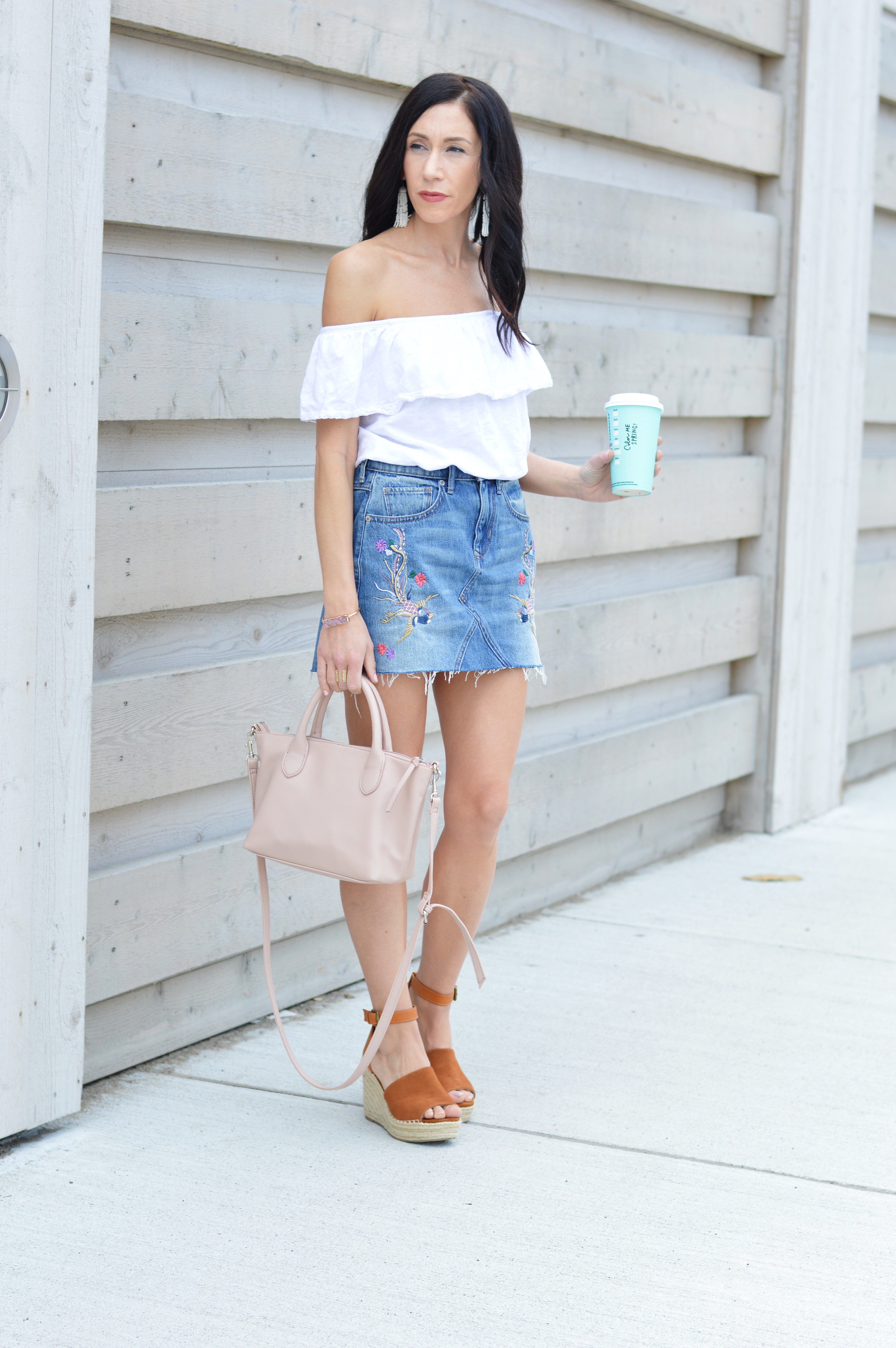 Denim skirt : The Spring trend to try