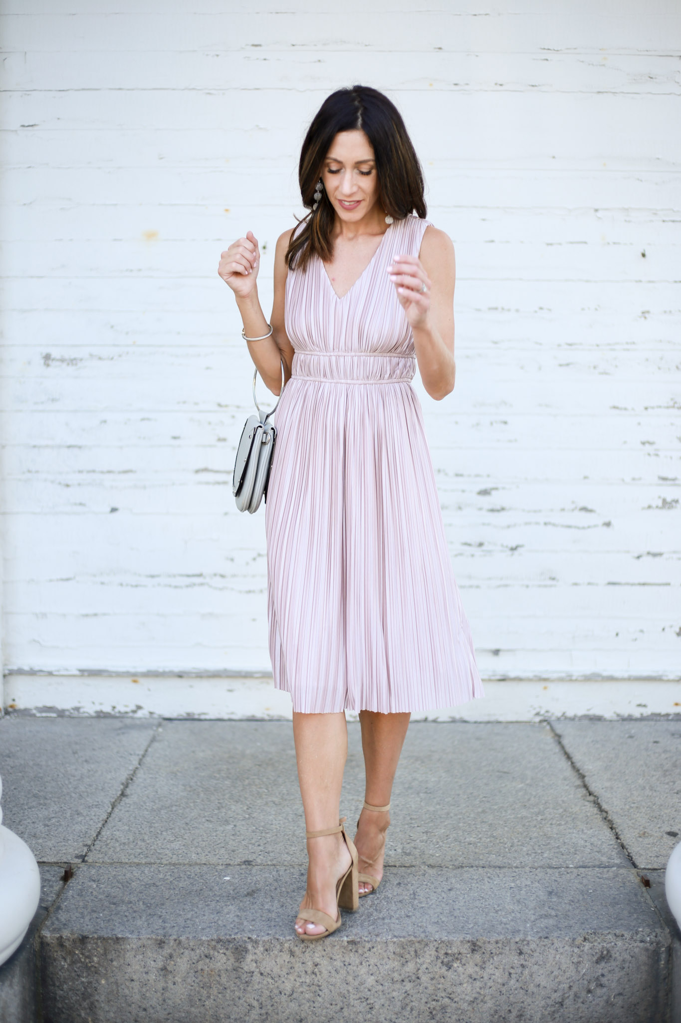 a must have dress for any special occasion - Perfect Affordable Dress For a Summer Wedding by Boston fashion blogger Living Life Pretty