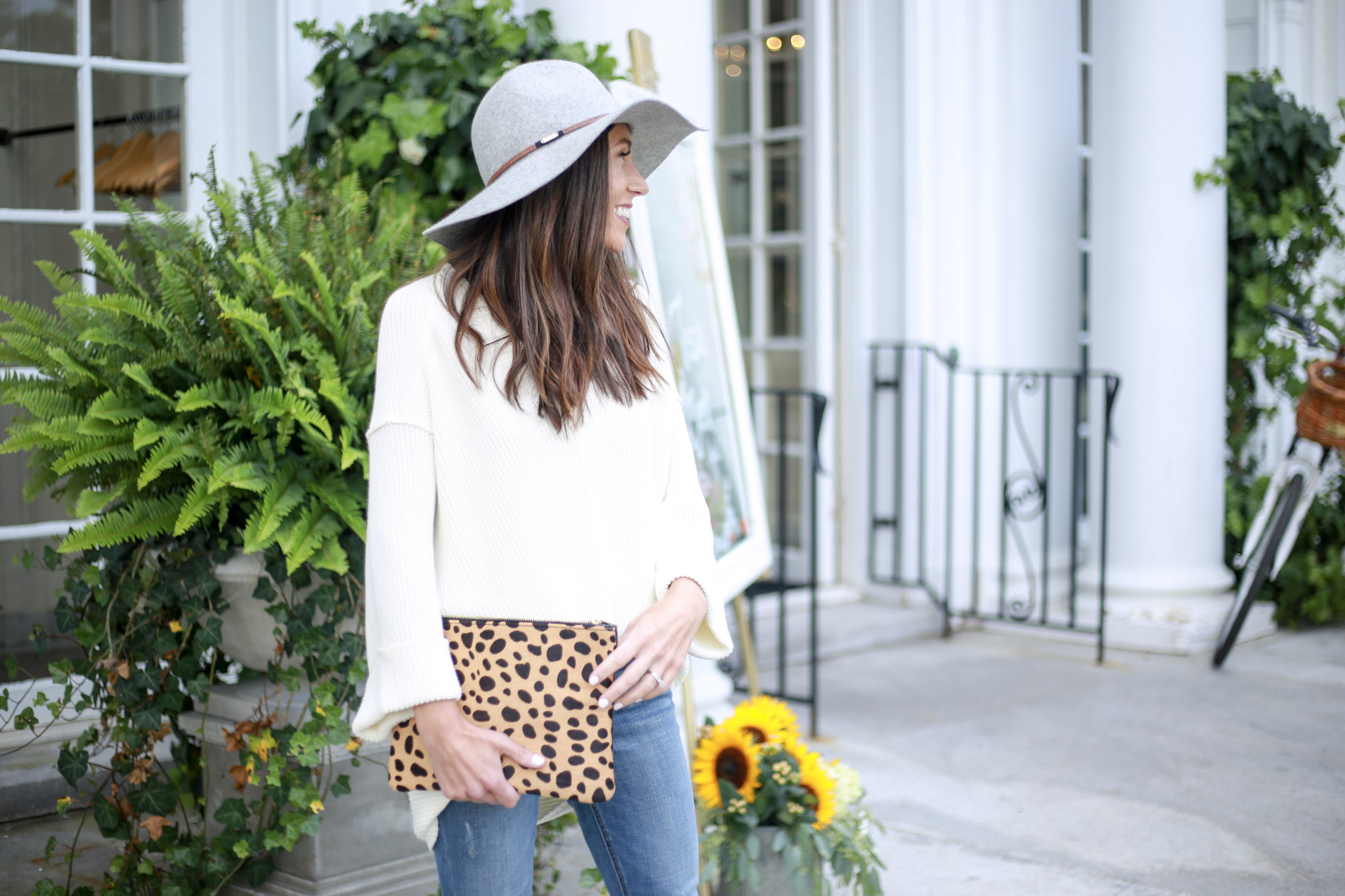 Building your capsule wardrobe on Livinglifepretty.com - The Knit Sweater by Boston fashion blogger Living Life Pretty