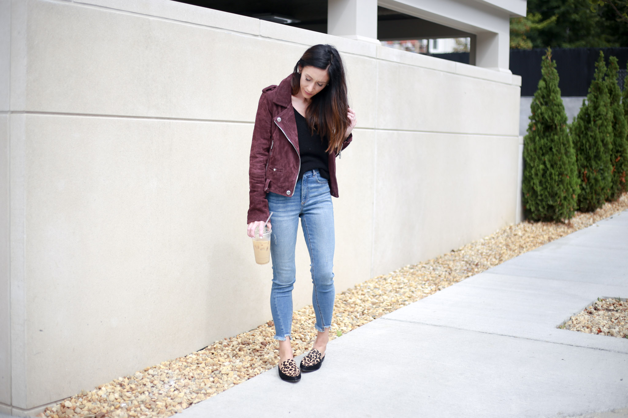 the best moto jcket for under $200 - Capsule Wardrobe Series: Moto Jacket by Boston fashion blogger Living Life Pretty