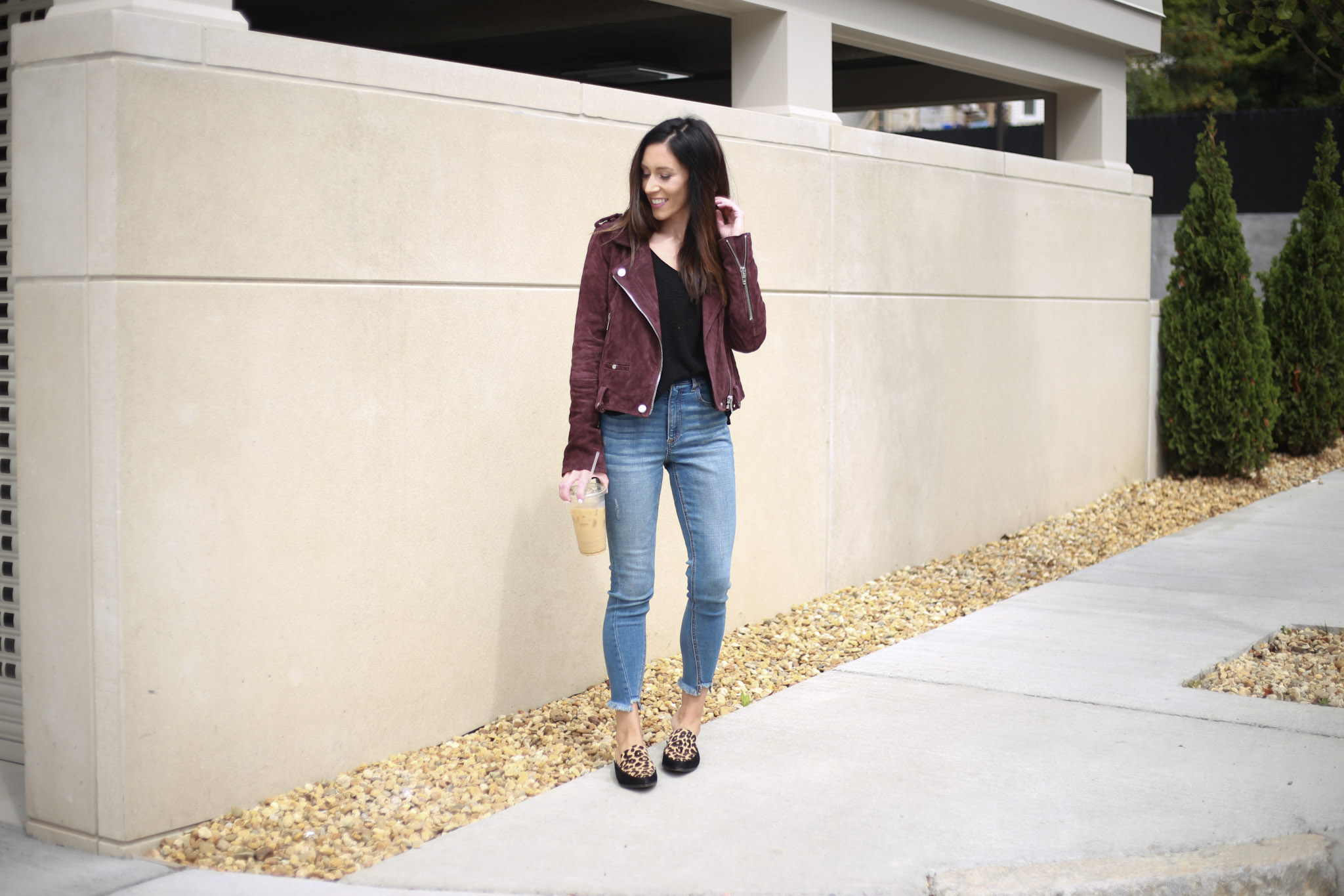 Why you need a moto jacket in your capsule wardrobe - Capsule Wardrobe Series: Moto Jacket by Boston fashion blogger Living Life Pretty