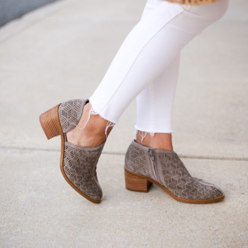 This fall bootie you can start wearing today.