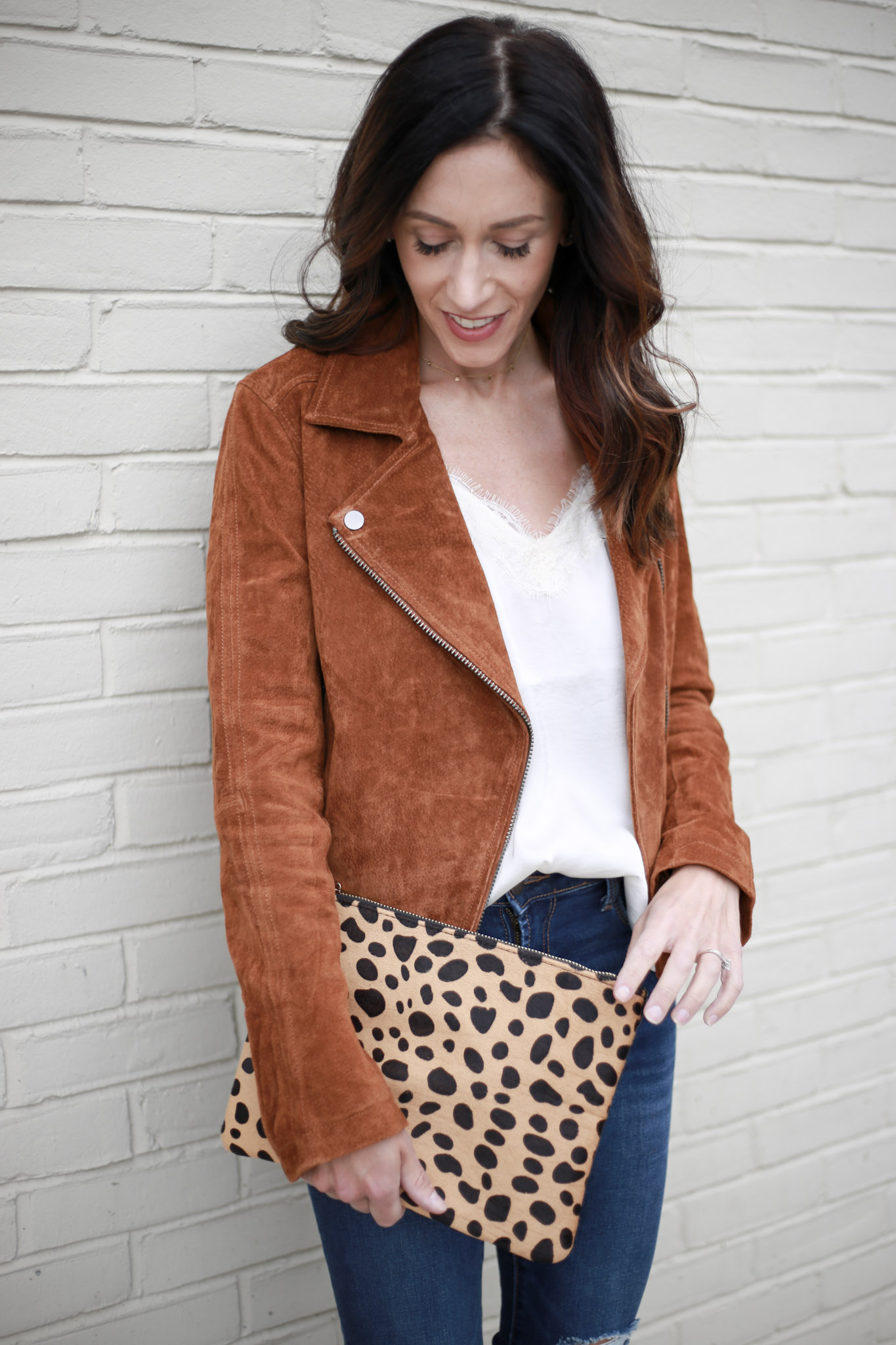 creating your capsule wardrobe series; Moto jacket - Capsule Wardrobe Series: Moto Jacket by Boston fashion blogger Living Life Pretty