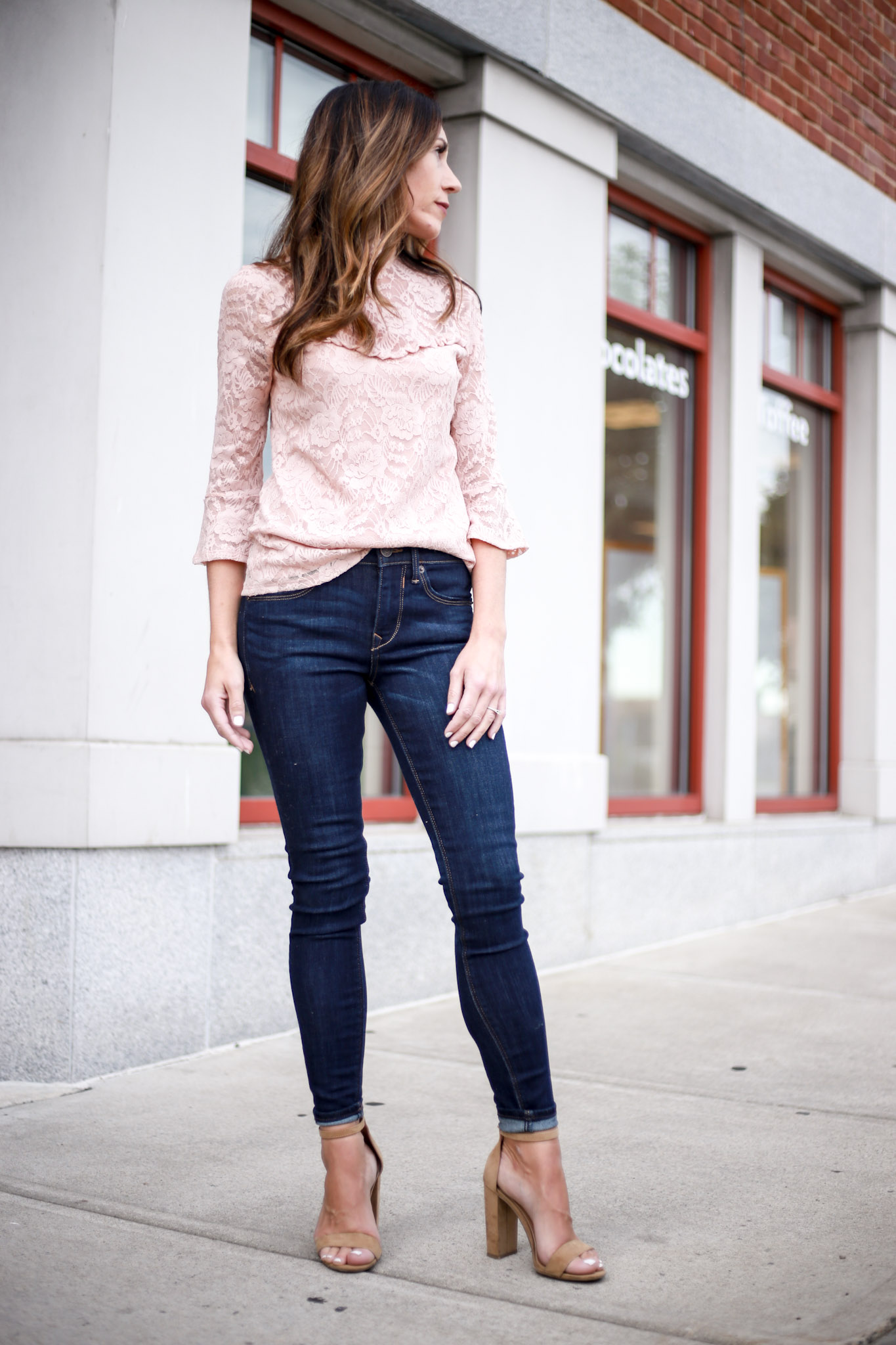 wardrobe, Capsule; Why you need a great pair of skinny jeans. - Capsule Wardrobe Series - Skinny Jeans by Boston fashion blogger Living Life Pretty