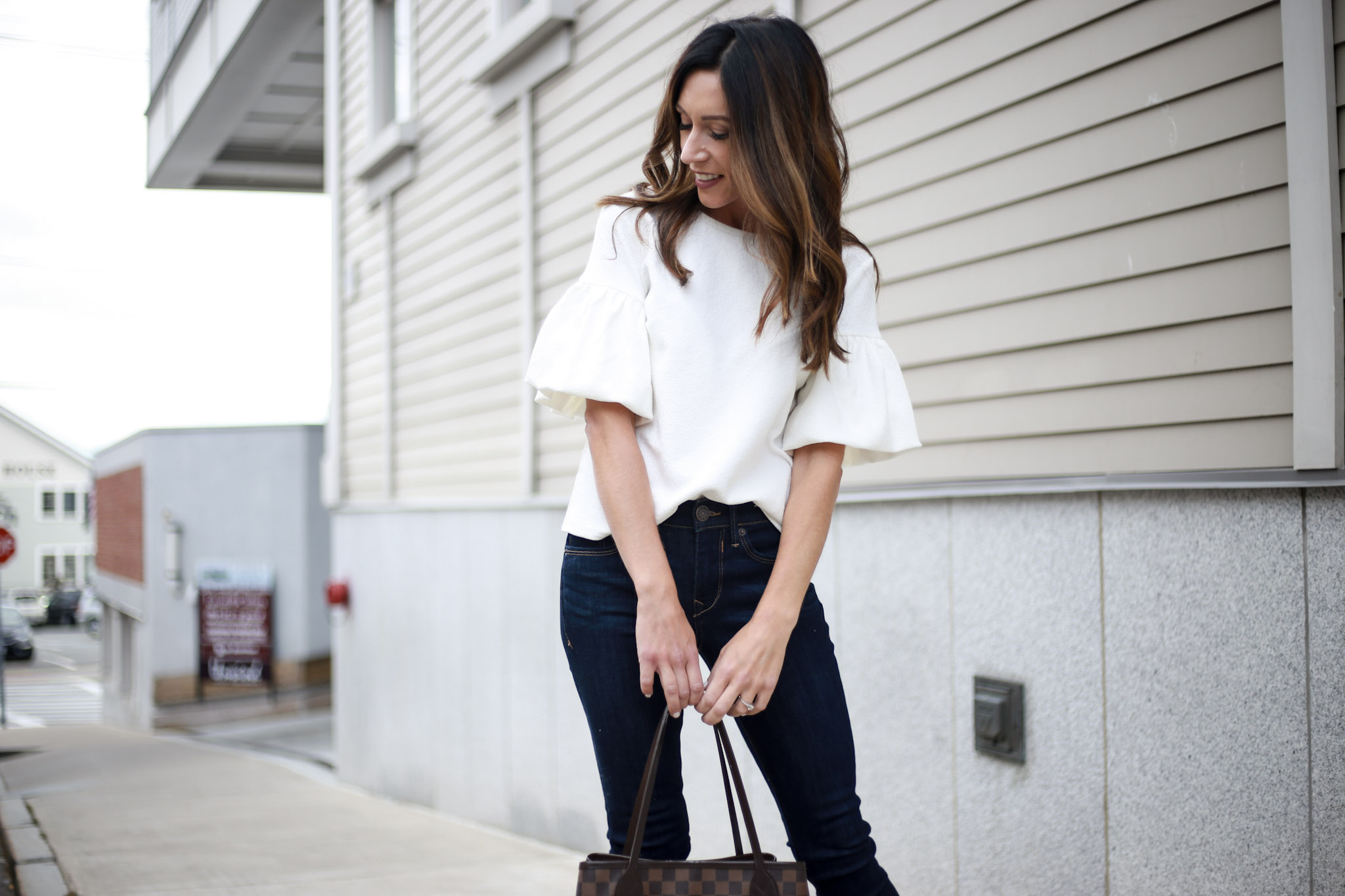 My most item from my capsule wardrobe - Capsule Wardrobe Series - Skinny Jeans by Boston fashion blogger Living Life Pretty