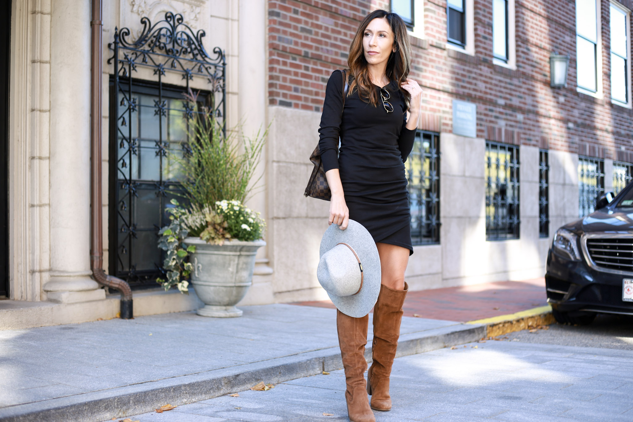 The dress everyone needs this fall. Comes in 5 clors under $60