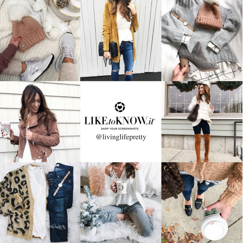 The most loved items from 2017 on LIVINGLIFEPRETTY.com