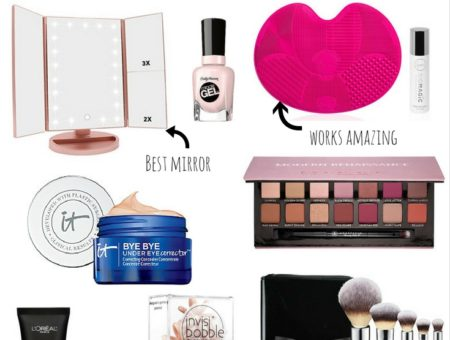 The top beauty products of 2017 by Boston based Fashion Blogger LivingLifePretty