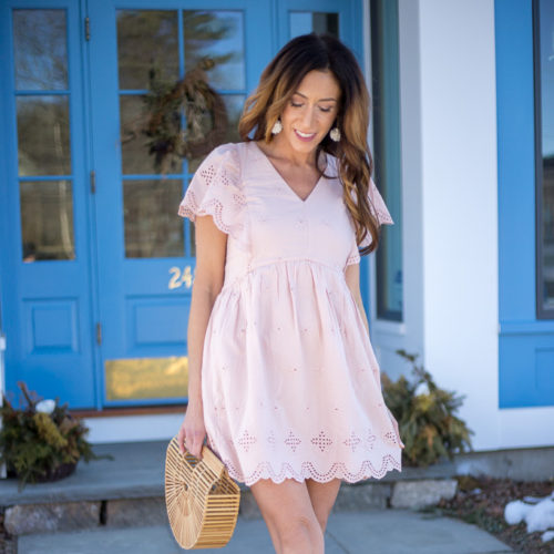 Easter dresse by Fashion Blogger Livinglifepretty