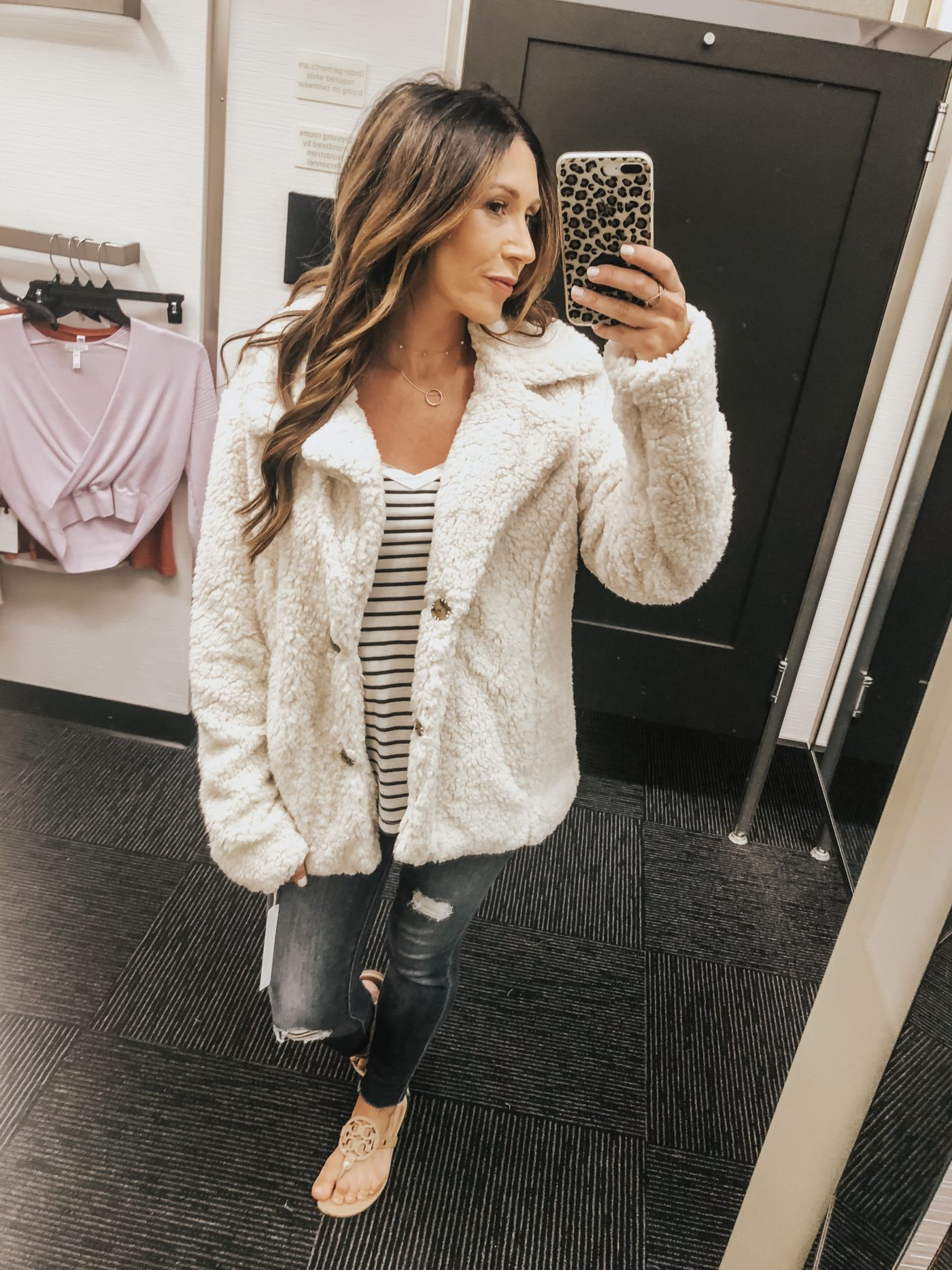 Nordstrom Anniversary sale try-on session