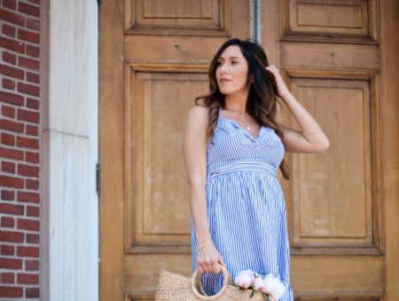 Stripes for July 4th Outfit Ideas + Nordstrom Giveaway