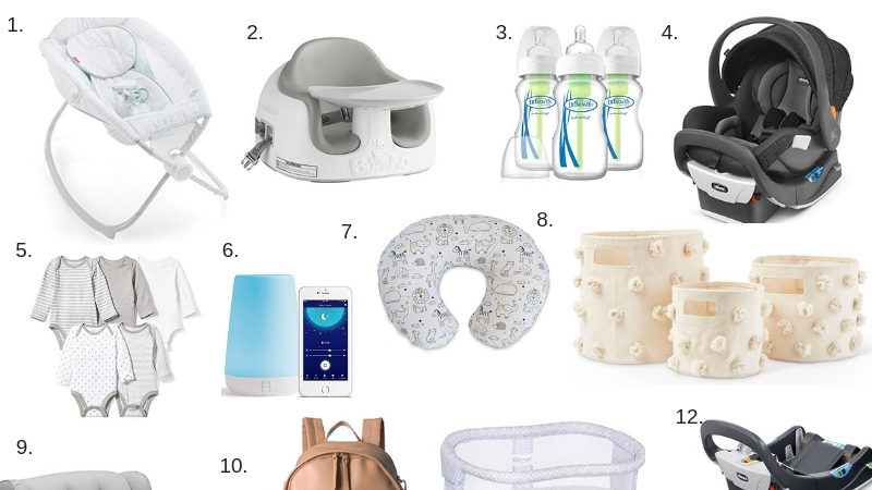 Baby registry by Boston based Fashion blogger Living Life Pretty