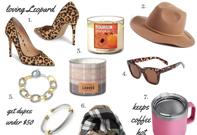 Favorite Fall finds by Boston based fashion blogger Living Life Pretty