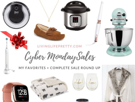 The best of Cyber Monday sales By Boston based fashion blogger Living Life Pretty