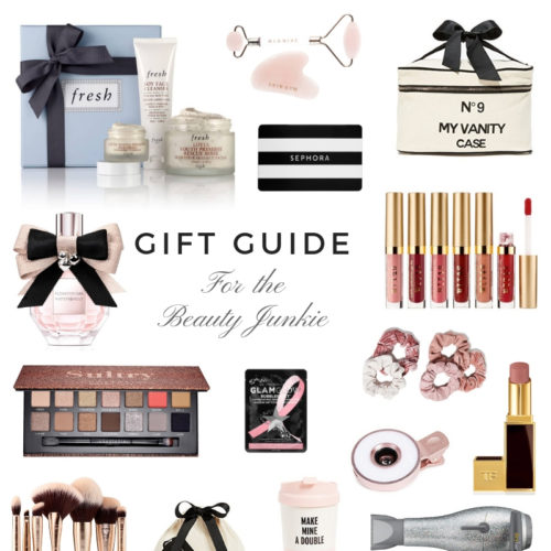 gift guide for the beauty lovers by Boston based fashion blogger by livinglifepretty