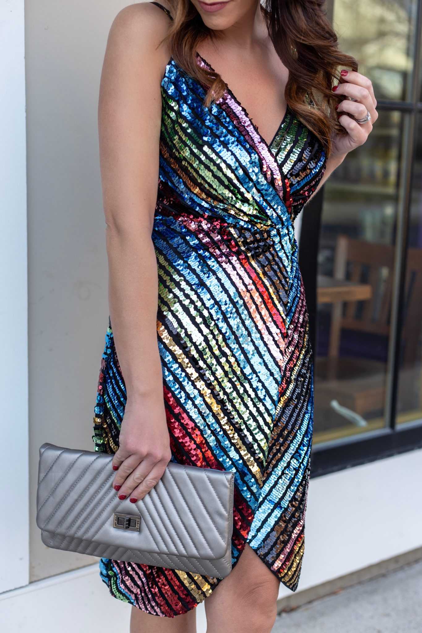 The perfect NYE outfit inspiration with Vici by Boston based fashion blogger Living Life Pretty