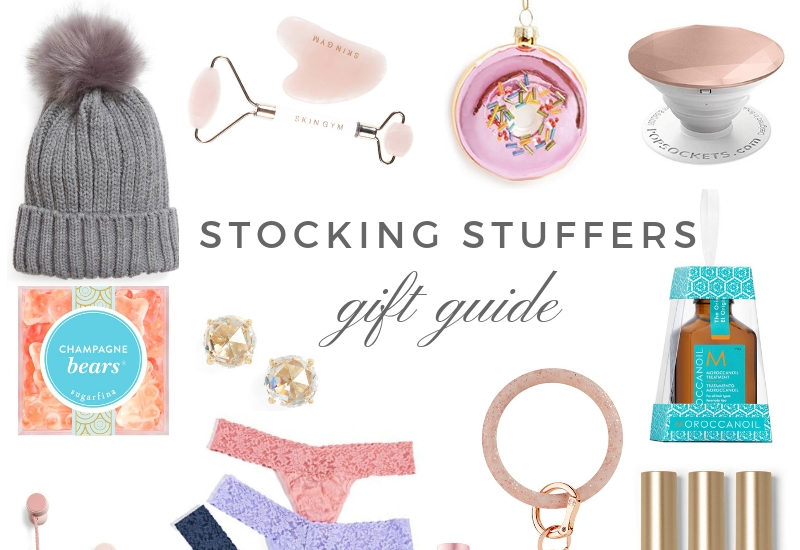 Holiday Gift Guides| Stocking stuffers by Boston based fashion blogger Livinglifepretty