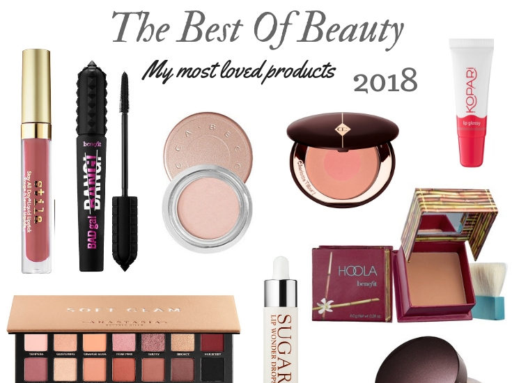 the best of beauty 2018; Makeup, skincare,, and hair products by Boston based fashion blogger Living Life Pretty