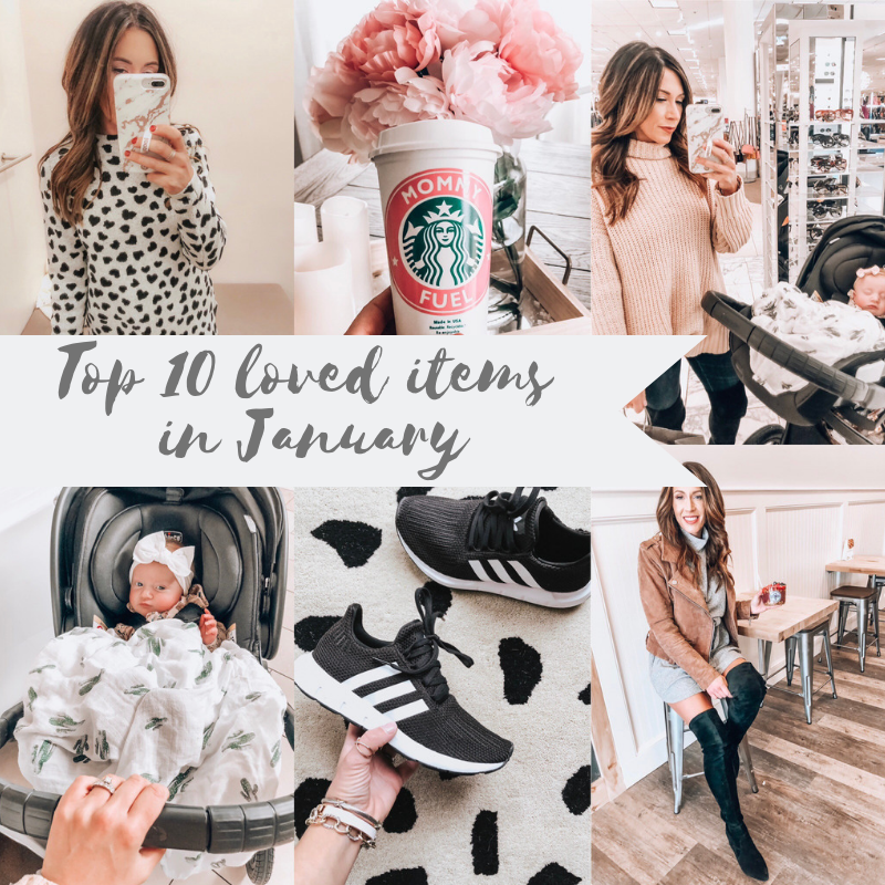 Top Ten purchased items this January