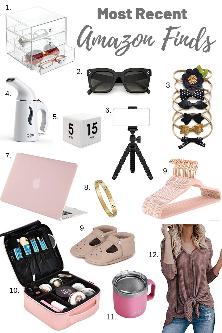 most recent Amazon finds by Boston based Fashion blogger Livinglifepretty