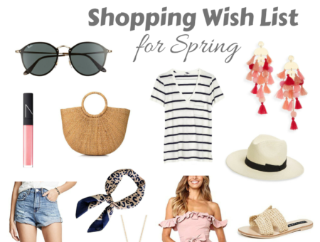 My Spring wishlist by Boston based Fashion Blogger