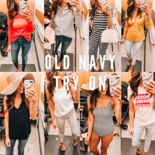 Old Navy Try-on By Boston Based Fashion Blogger by Livinglifepretty