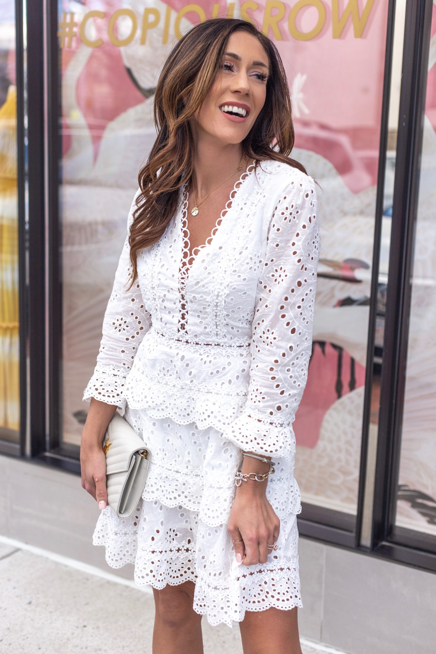white dresses; The perfect white dress for all your upcoming occasions