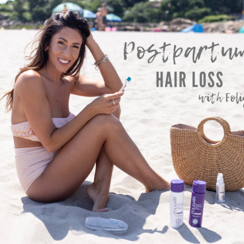 Bringing My Postpartum Hair Loss Back to Life – Foligain