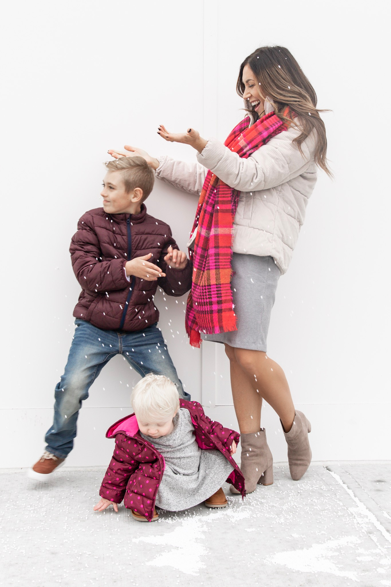 Old Navy Outerwear & Family Winter bucket list