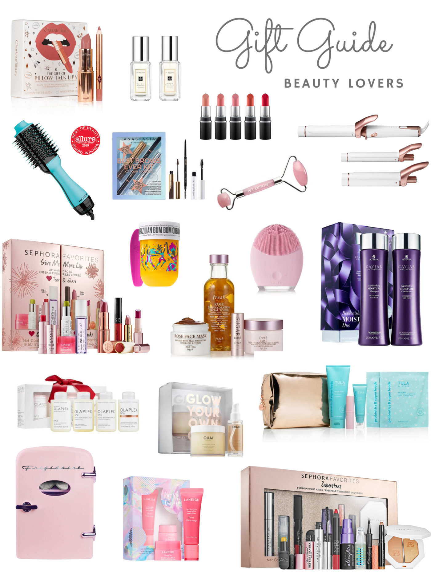 the ultimate Beauty gift guide for all the beauty lovers
