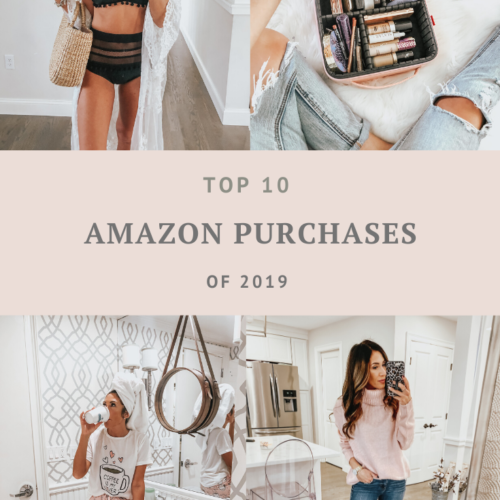 My 10 Top Purchased Items from Amazon